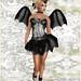 Gothmas by Gaslight 2014 - Dark Water Designs - Striped SugarPunk Fairy set
