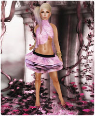 DC95 - {B-DaZZled} (Starsine Beauty & TuTu) - Nya's (Classic Shoes) & Baubles by Phe (Enchant Bangles & Rings)
