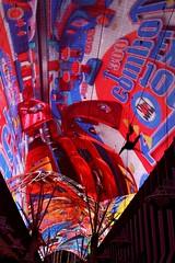 Fremont Street Experience (Prayitno / Thank you for (12 millions +) view) Tags: street las vegas roof night lights nightly top nevada fremont ceiling nv entertainment million lv str experiene konomark