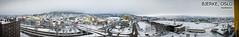 Bjerke in Panorama (therimalaya) Tags: panorama snow oslo norway landscape wideangle roads snowlandscape bjerke snownorway panoramaoslo panoramabjerke