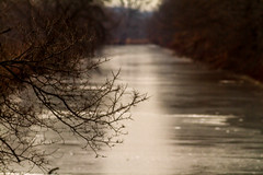 2015 is coming into focus (114berg) Tags: ice canal illinois afternoon late hennepin geneseo 02january15