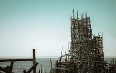 Ladonien (jnsfrbrg) Tags: ocean wood building art beach canon skne sweden lars 40mm nimis ladonien