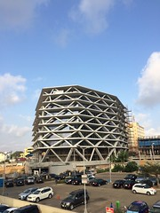 One airport square #MarioCucinella #quarets #amokweiquarshie #iphone5s #architecture #ghana #airportcity (Amokwei Quarshie) Tags: architecture ghana airportcity mariocucinella iphone5s quarets amokweiquarshie