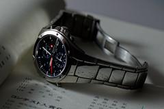 Seiko 7T32-6N00 Sportura Quartz Chronograph (paflechien33) Tags: nikon g quartz seiko f28 vr chronograph afs 105mm micronikkor ifed sportura 7t32 d7000