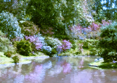 Reflections of Spring (DigiDi) Tags: painterly art spring digidi sharingart awardtree netartii