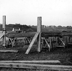 Carolina Port (Dundee City Archives) Tags: old olddundeephotos dundee photos carolinaport construction 1900s power station concrete reinforcement bars stannergate bathing pond