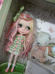Pink and Green Dolly Love.....