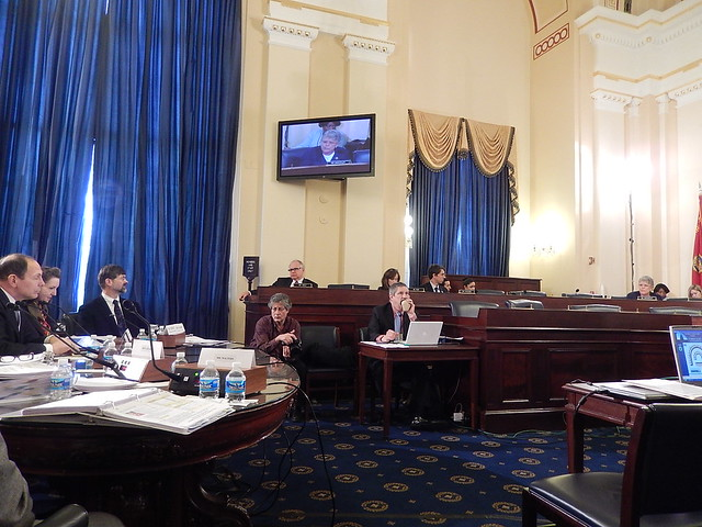 Brownley participated in a House Veterans' Affairs Committee hearing with VA Secretary Robert McDonald to discuss the FY2016 budget request