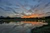 Desa Alam Lake Sunset (Shamsul Hidayat Omar) Tags: sunset lake reflection tourism water landscape photography high interesting nikon scenery dynamic places scene malaysia omar range hdr d3 selangor shah alam desa hidayat greatphotographers shamsul photoengine oloneo