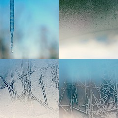 winter windows (taralees) Tags: sky cold ice water frost clear condensation february evaporation