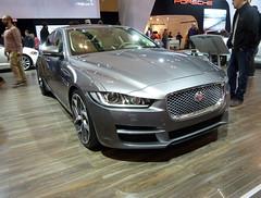 Jaguar's new XE sedan (pathological) Tags: auto show canadian international prototype jaguar xe 2015 cias