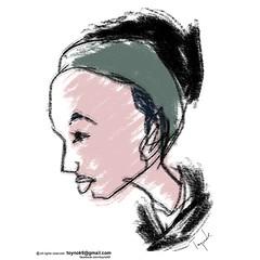 jolie fille by  Toynok  #pretty #girl  #sketch #illustration #comics #doodle #digitaldrawing #digitalpainting #drawing #painting #cartoon  #anime #manga  #art  #draw #ipadart #artwork  #procreate   #ศิลปะ #ภาพประกอบ #ภาพวาด   #การ์ตูน