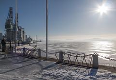 Soleil hivernal (sosivov) Tags: winter sea snow ice sweden bothniansea