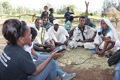 Focus group discussion with Champion Farmers