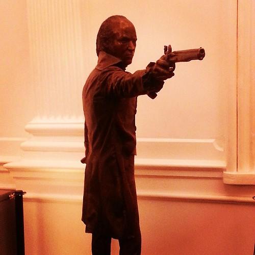 Aaron Burr #HAMILTONPublic
