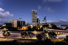 West End View [Take Two] (Photos By Dlee) Tags: city longexposure trees urban nature architecture night clouds canon buildings landscape photography photo construction zoom tripod australia adobe perth freeway citylights cbd canonef1740mmf4lusm westernaustralia citycentre manfrotto urbanlandscape westperth 6d wideanglelens mitchellfreeway canon1740mmf4l ultrawideangle manfrottotripod canon6d lightroom5 photoshopcc photosbydlee