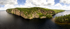 Mazinaw Rock (Pattersong) Tags: aerial quadcopter drone uav ontario canada bon echo provincial park landscape lake rock cliff panorama panoramic