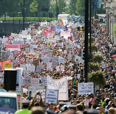 PtP2 (Stephen M Evans) Tags: pope london march catholic protest september demonstration hydepark antipope 2010 atheist papal papalvisit secularism statevisit richarddawkins petertatchell sinisterpictures rationalists