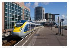 Eurostar 4014/13 - Amsterdam Sloterdijk - 16531 (14-07-2016) (Vincent-Prins) Tags: eurostar 4014 4013 e320 class374 amsterdam sloterdijk 16531