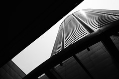 Pacific Place Apartment (Gomen S) Tags: china city summer urban blackandwhite bw hk abstract building architecture hongkong asia afternoon sony tropical 1855mm 2016 nex5 sonyflickraward