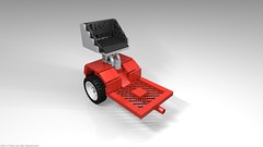 belos_06 (pehter aka ibbe) Tags: tractor lego gravely mocs lawnmover belos