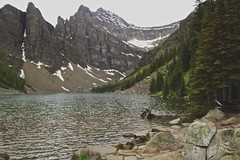 "Lake Agnes Alberta (Xsbmrnr (Please read profile before ""following"") Tags: alberta lake mirrorlake water nature mountains banffnationalpark"
