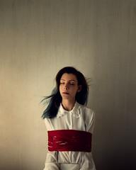"""A silent struggle"" (Adi Korndrfer) Tags: conceptual fineart selfportrait 366project"