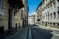 A peaceful street in the heart of the city (Vassy Stoilova) Tags: street peaceful city downtown architecture bulgaria sofia