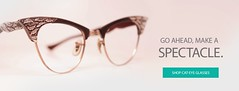 Shop for Cat-Eye Glasses Only at The Vintage Optical Shop (Vintageopticalshop) Tags: cateye glasses only