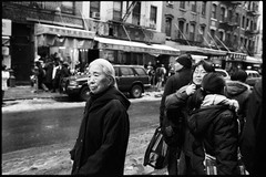 one day in chinatown (-{ ThusOriginal }-) Tags: 135 28mm bw blackandwhite film fujineopan1600 monochrome nyc street thusihaveseen winter thusoriginal newyork city scan