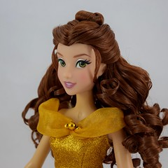 2016 Singing Belle 16 Inch Doll - US Disney Store Purchase - Belle Deboxed - Standing - Portrait Right Front View (drj1828) Tags: us disneystore belle beautyandthebeast singing 16inch 16 lightup interactive 2016 purchase deboxed standing