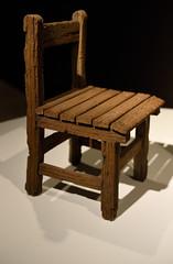 Earthy Chair (_wintermute) Tags: white rabbit art ceramic chair gallery sydney stoneware