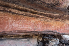 Kakadu National Park Aborigional rock painting ancient_-2