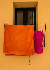 Summer Colours (gibel49) Tags: 13luglio sicilia architetture cefal minimalismo colore giallo arancione rosso