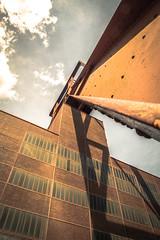 Angle (TessaSmits) Tags: abandoned essen mine factory eerie unesco panasonic ruhr zollverein zeche coalmine industriekultur dmczf100