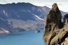 skjuvatn, the large caldera lake of Askja volcano (Hubert Streng) Tags: caldera askja iceland lake landscape mountain volcano skjuvatn crater