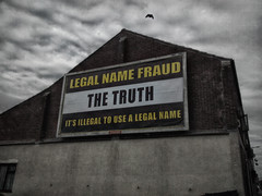 The Spartacus Act? (Grifos) Tags: leehouston grifos wa12 earlestown newtoninmakerfield england truth advertisement billboard