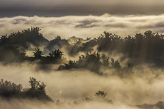 light and shadow (Isaac Chiu5433) Tags: sunrise sunlight landscapes clouds mountains shadow foggy morning