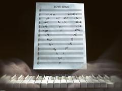 Love song (Fernacinguer1981) Tags: msica partitura love song piano cancion amor movimiento