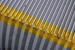 Escalator (Row 17) Tags: abstract stairs steps engineering abstracts