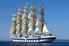 Royal Clipper Under Sail IMG_4467 (SunCat) Tags: royalclipper goldenhorn barenecessities cruise travel vacation europe 2016 all canon powershot g3x nude naturist naturists poros greece tallship