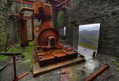 """ THE BEAST "" (Wiffsmiff23) Tags: northwales dinorwicslatequarry dinorwic beast snowdonia rust decay abandoned llanberis slate quarry"