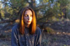 Pauline (Striker00) Tags: pauline girl portrait light red head hair sun sunset colors nature camp