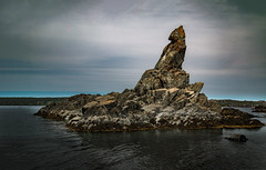 First Sister (rick miller foto) Tags: 3 sisters three bay roberts newfoundland mad rocks canada shore line sea stacks