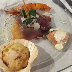 This was just the antipasti for dinner last night. I ate more seafood last night thank have in the last 10 years!  #food #Sicily #Italy #travel #fish #seafood (dewelch) Tags: ifttt instagram this was just antipasti for dinner last night i ate more seafood thank have 10 years  food sicily italy travel fish