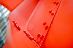 Rubies II (MFG512) Tags: chicago chitown sculpture art photography red steel architecture building flamingo design photo zoom aperture bokeh focus