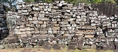 Pile of ancient stones (herr loeffler) Tags: angkorwat asia asien cambodia panorama siemreap archeology architecture historical history texture unsortedrocks wall krongsiemreap kh