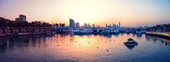 Sunset, Marina Crescent, Salmiya, Kuwait (CamelKW) Tags: kuwait2212016 sunset marinacrescent salmiya kuwait