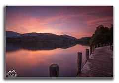 framedjetty1 (timothytripod) Tags: sunset sky colours pink water longexposure lake lakes lakedistrict jetty shore leefilters explore