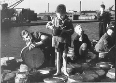 War and Hunger / Barefoot in Winter (Kelly Short6) Tags: famine hunger hongerwinter poorpeople poverty suffering sadness wwii netherlands children war barefootboy